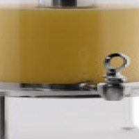 Tiger Hi-line juice dispenser with polycarbonate base 7Lt