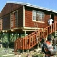 Justne log homes supplier