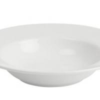 Plate round rim soup plate 27cm Luzerne