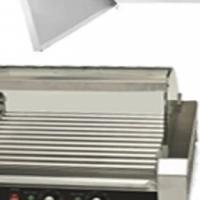 Hot Dog Roller Curved Sneeze Guard Model CVDG Catering Equipment