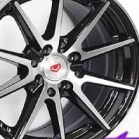"15"" MG083 Black 4/100 & 4/114 Alloy Wheels"