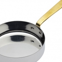 Frying pan mini S/Steel 120 x 35mm Infiniti