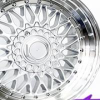 """17"""" BSS Silver 4/100 &  5/100 Alloy Wheels"""