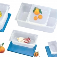 Storage container sixth lid (polyprop) - White Pujadas