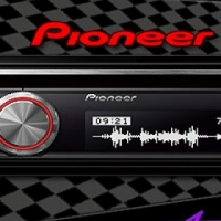 Pioneer DEH-X8750BT Audio Receiver with USB & Bluetooth
