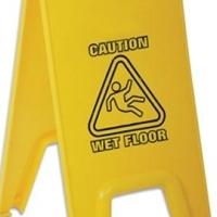 Wet Floor Sign - Pop Up Spectra