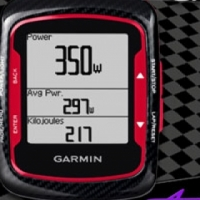 Garmin Edge 500 Bundle  Red & Black