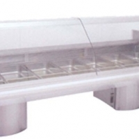 Bain Marie, 5 Division Curved Glass, Model 5DCGBM, Catering Equipment Arctica