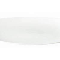 Plate Churchill Orbit oval coupe 31cm