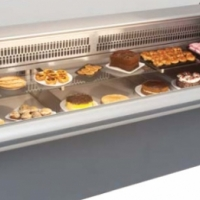 Cabinet Refrigerated Curved Glass 2.5M