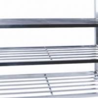 Pot rack S/Steel - Floor standing 1200 x 600 x 1450mm Global