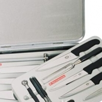 Victorinox set of 14 knives in case