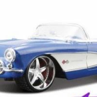 Maisto 1/24 Scale Chev Corvet 1957 Model Car