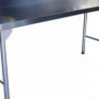 Table Stainless Steel Splash Back  1100mm