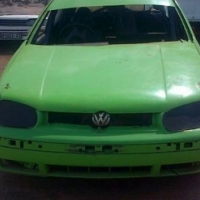 Golf 4 Oval track car for sale.