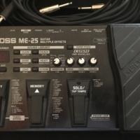 Boss ME-25 & PSA power supply