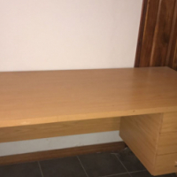Desk & extension for sale