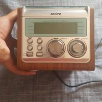 Sanyo Radio/CD Speler met Dual Alarm Clock