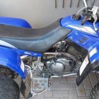 Yamaha warrior 350 (6speed) tekoop.