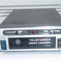4 Track - Car Tape Deck - Vintage - Telefunken stereo Cassette player