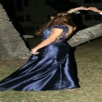 Blue formal matric dance Dress