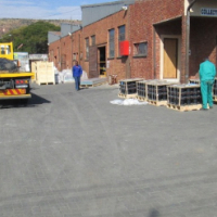 Paved Yard with security and 3 offices 250 Amp power