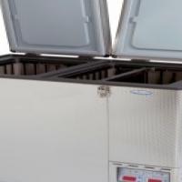 National Luna 110 Double Door Refrigerator