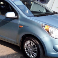 2011 Hyundai i20 1.6, light blue, manual, 121 800km, good all round condition, R114 950, Pretoria.