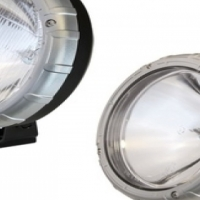 "Ironman 4X4 Gamma 100W Halogen Driving Light 7"" (H3) (Pair) -10% discount Easter special"