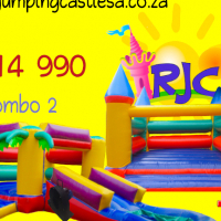 2 New Jumping Castles for R14990 with blowers, Carry bag, glue & Patches