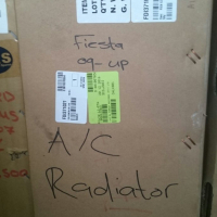 Ford Fiesta '09 1.4 & 1.6 Condensor and radiator