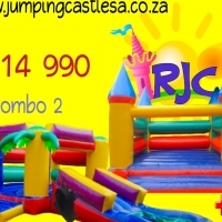 Jumping Castle Combo :3.75m + 3m x 6m + Blowers