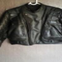 Panther biker's jacket