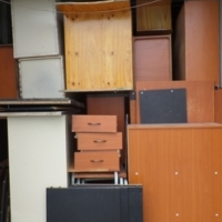 12 m Container with Various Office Furniture