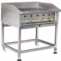 HEAVY DUTY SOLID TOP GRILLER - GAS [900]