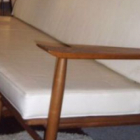 Mid Century Heywood Wakefield Couch/Sofa and Chairs