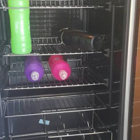 Bar fridge / wine cooler.