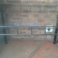 Small glass dining room table