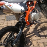 Recreational off-road motorbike for junior