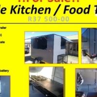 Vending Trailer / Fast Food / Mobile Kitchen For Sale