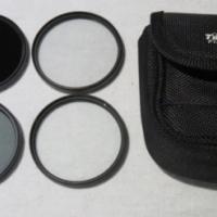 Tiffen 4x 58mm filter set in pouch