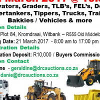 DRC Assest - Upcoming Auction for March 2017