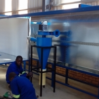 powder coating machines and plants for sale