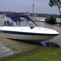 Sensaton 18 ft speed boat. !25 Mariner