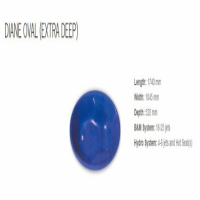 Diane Oval Extra Deep Jetted Bath for SALE