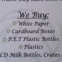 Turn your trash into cash, sell your recyclables now.