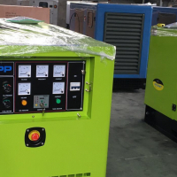 Generators of various capacities for sale.
