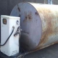 Diesel tank with pump 4500 liters at auctioneer discount price