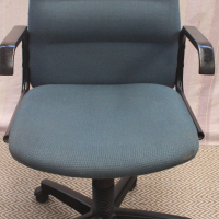 Blue Office Swivel Arm Chair - R300.00
