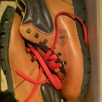 Trailblazer leather hiking boots size 7